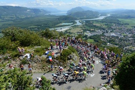 Grand Colombier, Tour de France 2012