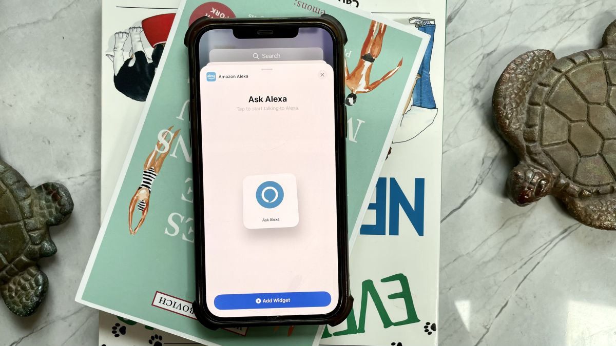 iPhones just got a killer Alexa widget —here's what you can do