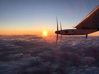 Solar Impulse 2 Over Japan