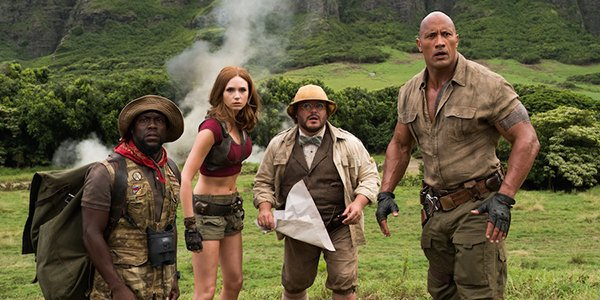 Jumanji: Welcome To The Jungle Just Surpassed Spider-Man: Homecoming In A Major Way