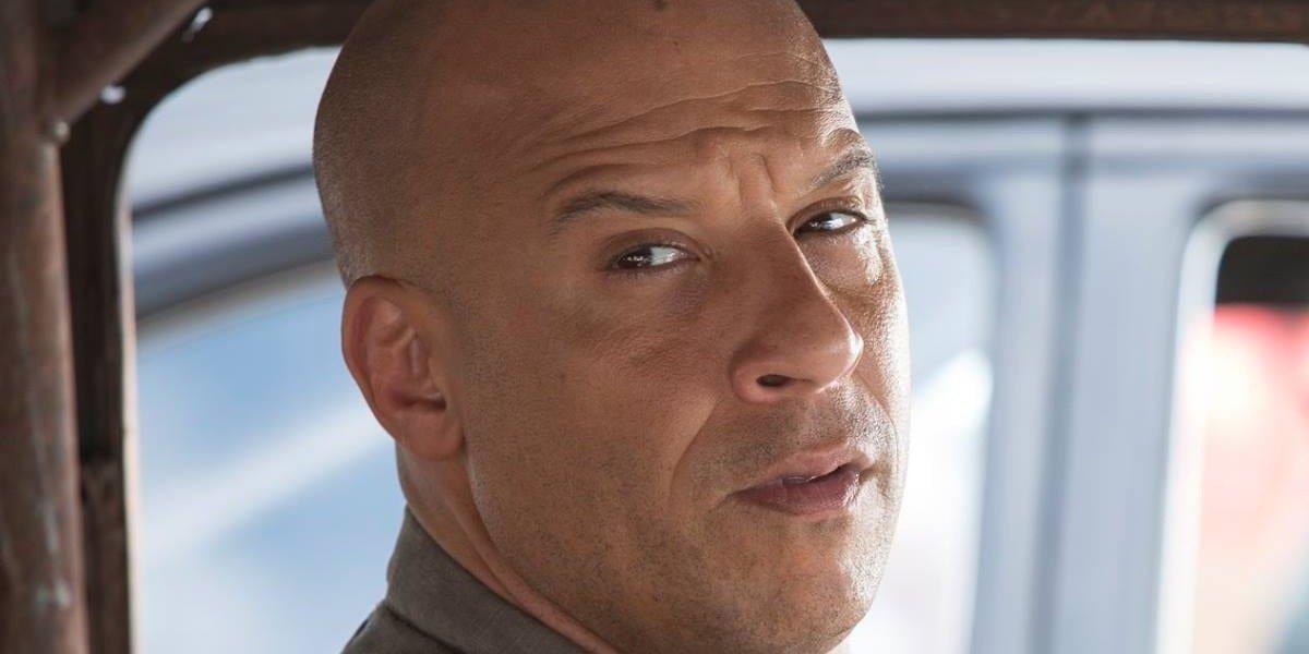 A very curious Vin Diesel