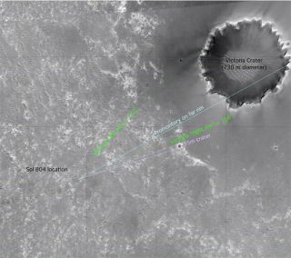 Mars Rover Update: Spirit Hunkers Down, Opportunity on the Move