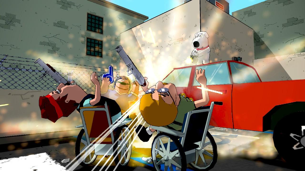 Family Guy: Back to the Multiverse Screenshots Shoot Up Quahog #22909