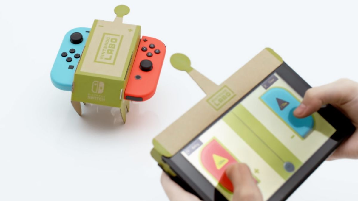 How to print your own Nintendo Labo replacement parts for free