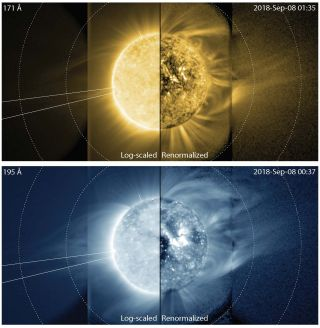 Researchers from the Cooperative Institute for Research in Environmental Sciences (CIRES) captured the first-ever images of the sun's middle corona — also known as the sun's outer atmosphere.
