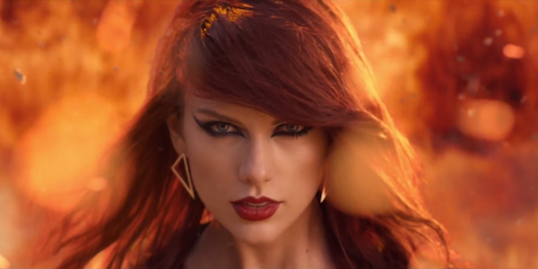 "Taylor Swift in ""Bad Blood"""