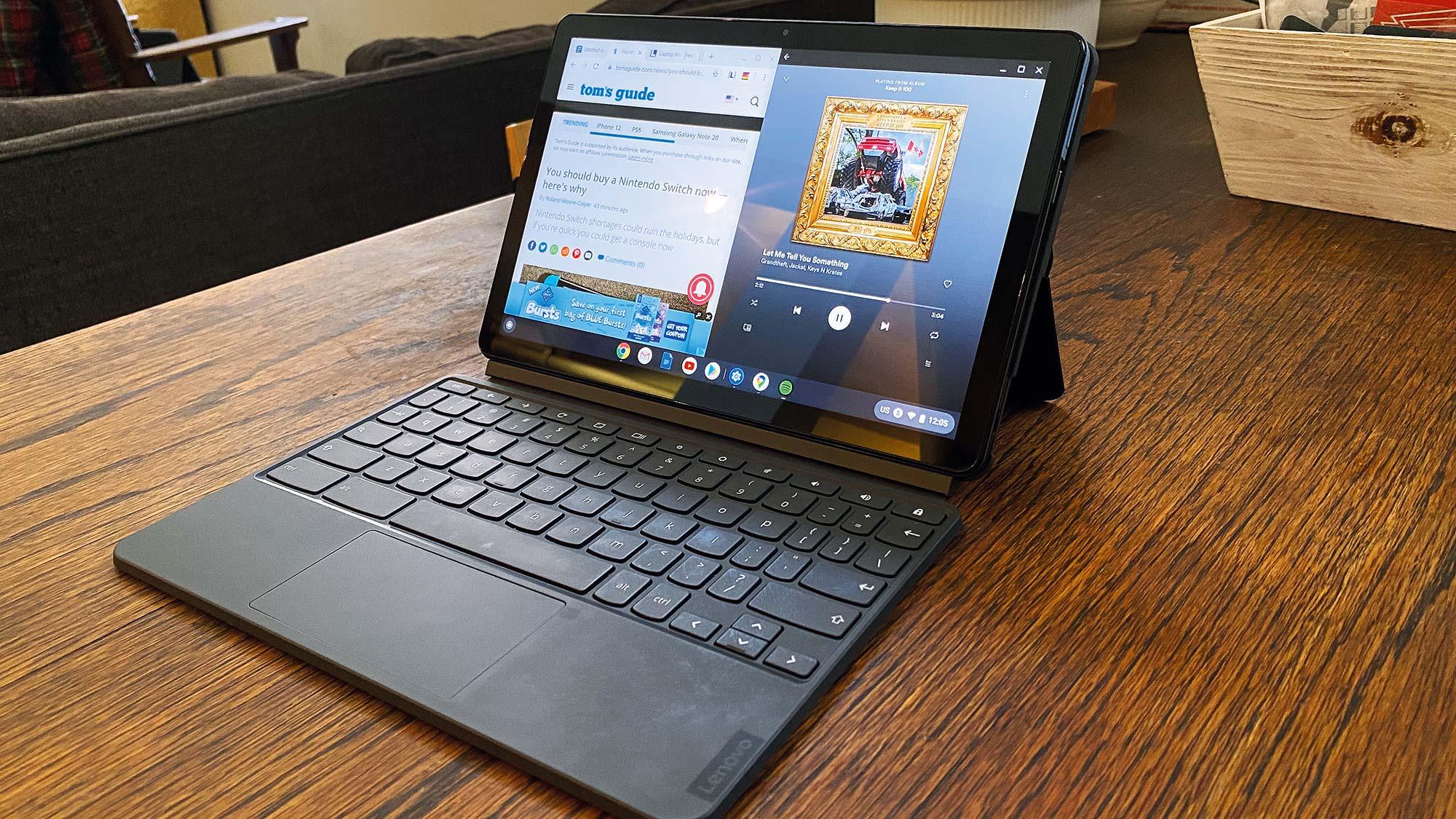 Best Chromebooks for kids: Lenovo Chromebook Duet review