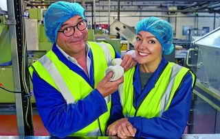 Gregg Wallace and Cherry Healey return to uncover the secrets of how more of our favourite products are made, beginning with tea bags.