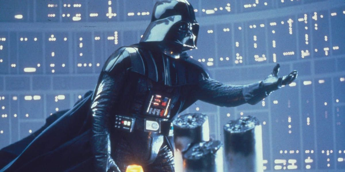 Darth Vader in Star Wars: empire strikes back