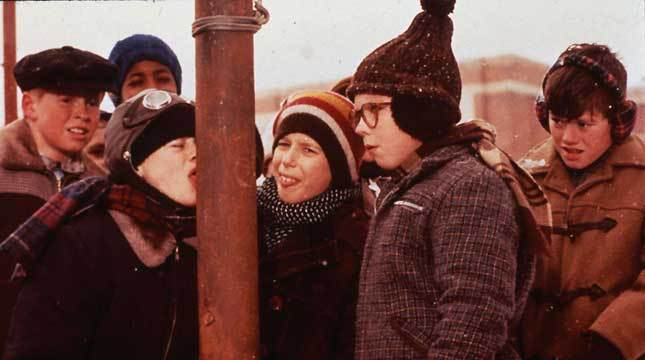 How A Christmas Story Actually Filmed The Infamous Tongue Scene
