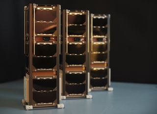 3 Diamonds nanosatellites