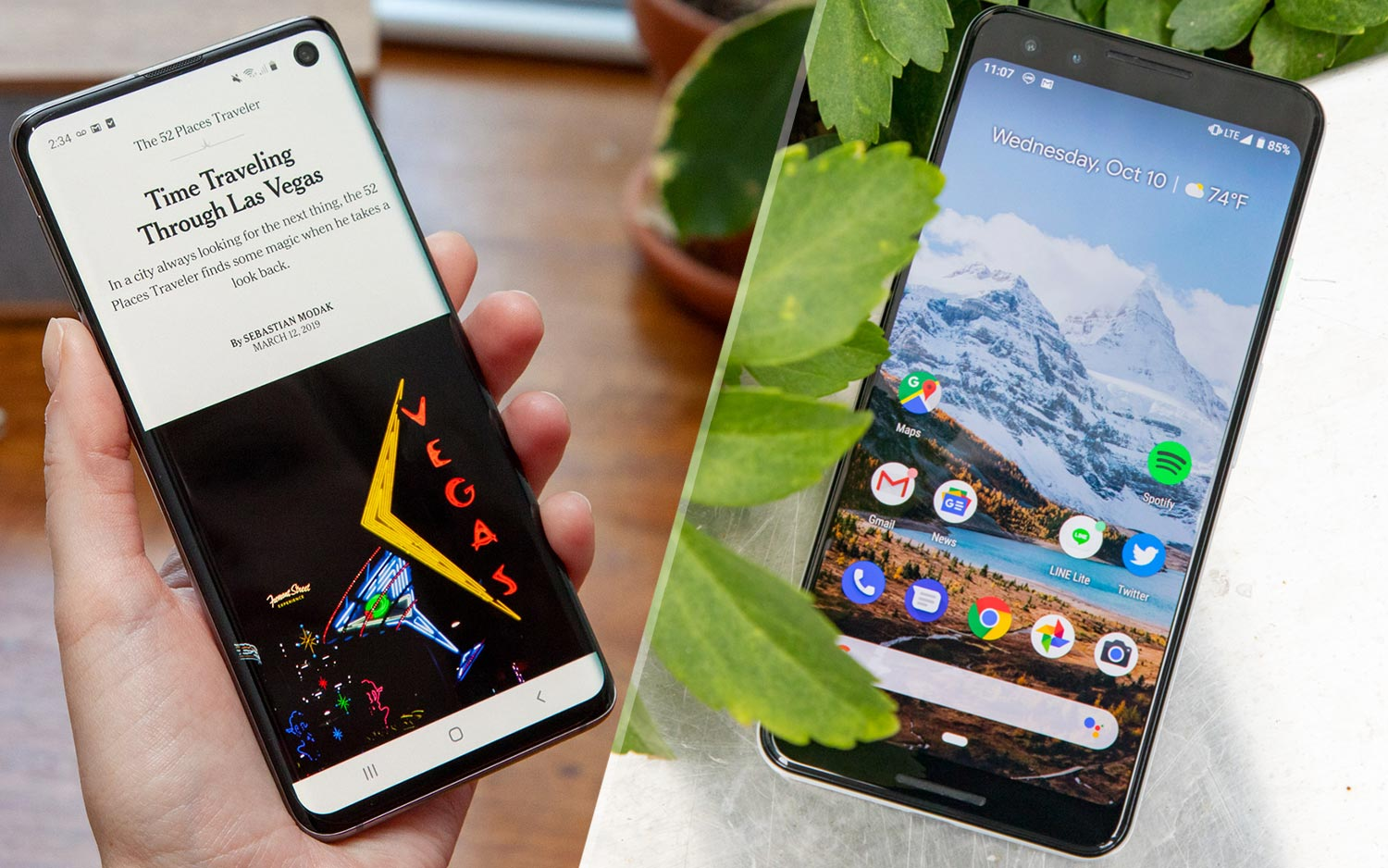 Galaxy S10 vs  Pixel 3: Which Android Phone Is Best? | Tom's Guide