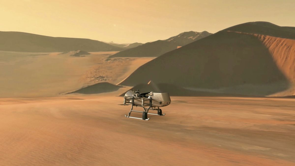 Propelling Exploration: Drones Are Going Interplanetary