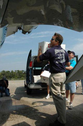 NASA Spaceport Sends Vital Supplies to Gulf Coast Centers