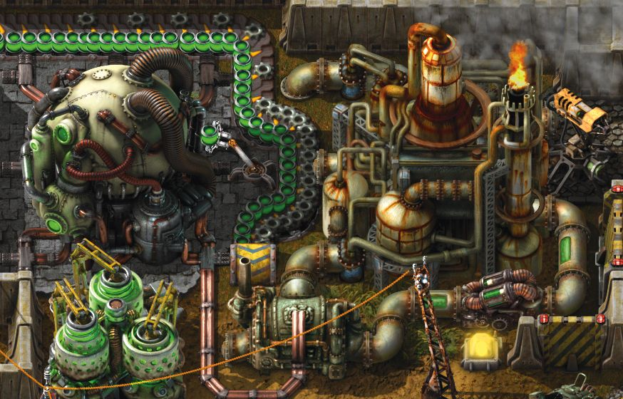 An expansion for Factorio is in development