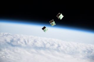 Watch 3 'BIRDS' Take Flight from the International Space Station