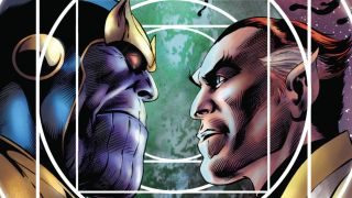 The superhero Eros AKA Starfox is a part of a whole other section of Marvel Comics Eternals' lore