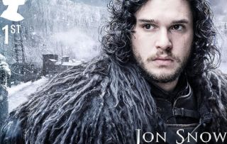 Jon Snow Game of Thrones stamps