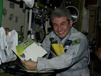 Brazilian Stamps, Coins Fly Aboard ISS with Nation's First Astronaut