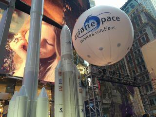 Ariane Rocket Models in NYC