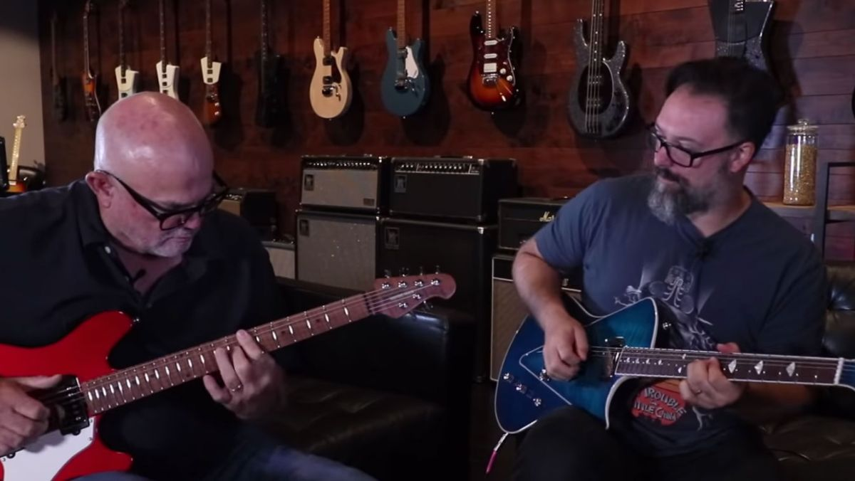 Watch Rob Chapman's Ernie Ball Music Man Experience Documentary