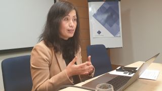 Emily He, senior vice-president for Human Capital Management Cloud Business Group, Oracle