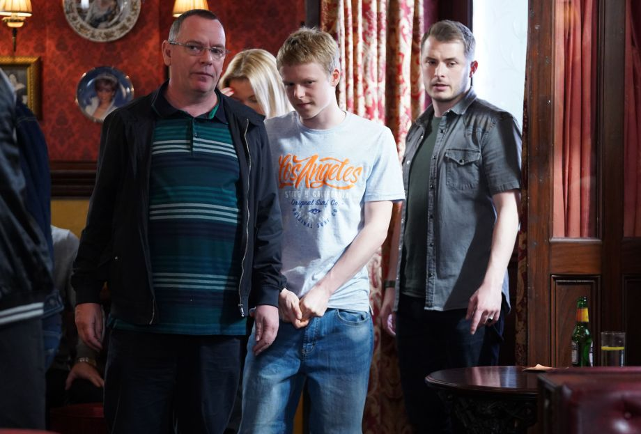 EastEnders Ian Beale Bobby Beale and Ben Mitchell