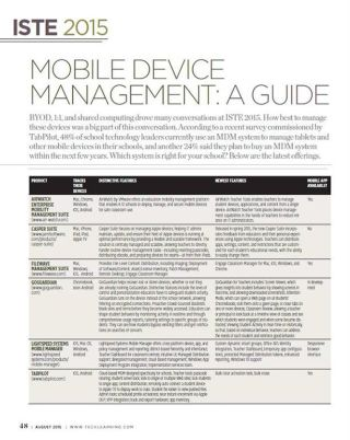 Mobile Device Management: A Guide