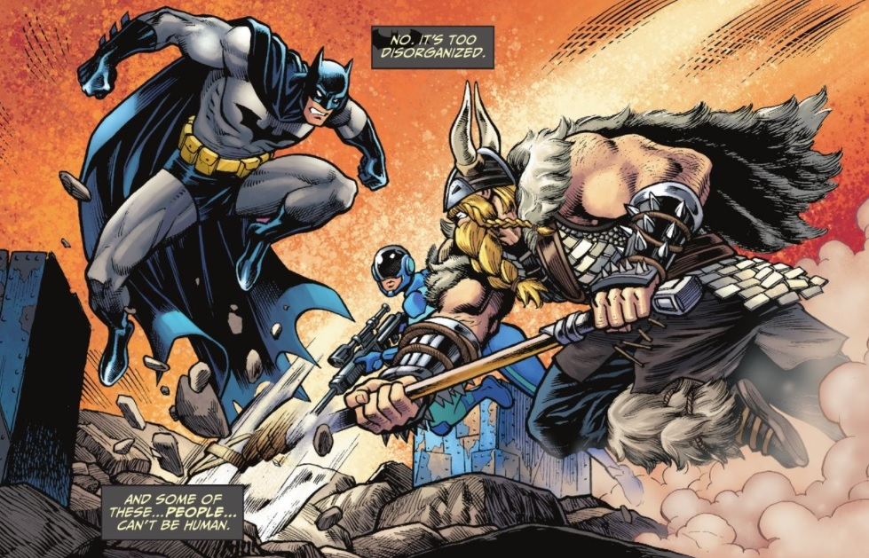 Fortnite batman comic