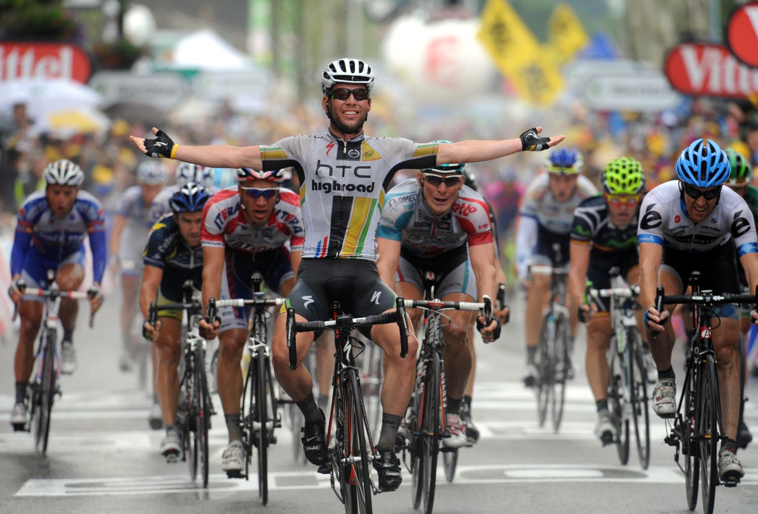 Mark Cavendish wins, Tour de France 2011, stage 11