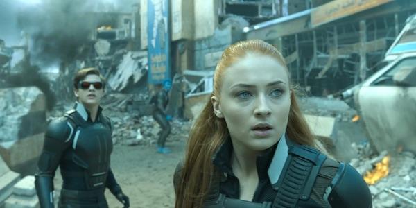 Jean, Cyclops and Beast during X-Men: Apocalypse's final battle