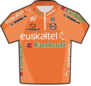 Euskaltel-Euskadi jersey Tour de France 2010