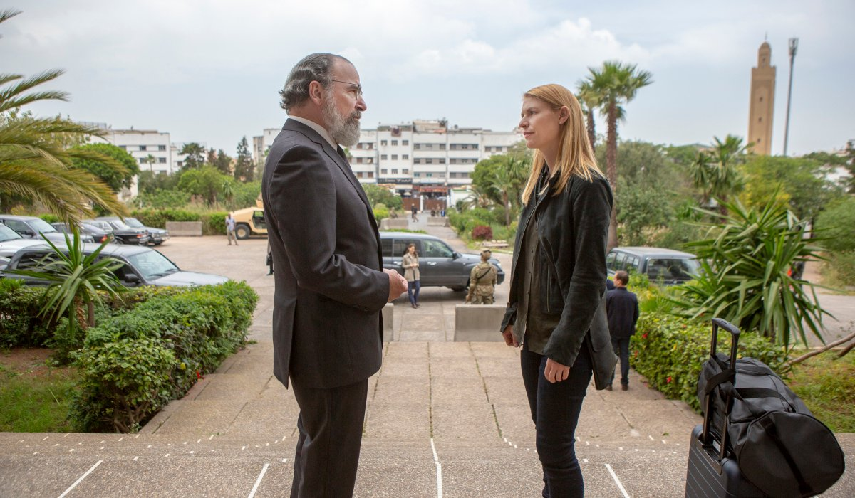homeland saul and carrie season 8