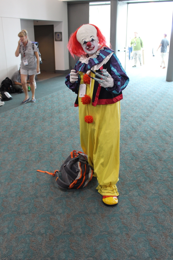 SDCC Costume pennywise