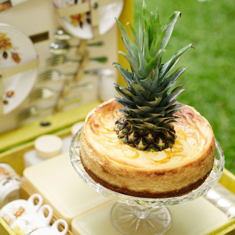 Pineapple Cheesecake photo