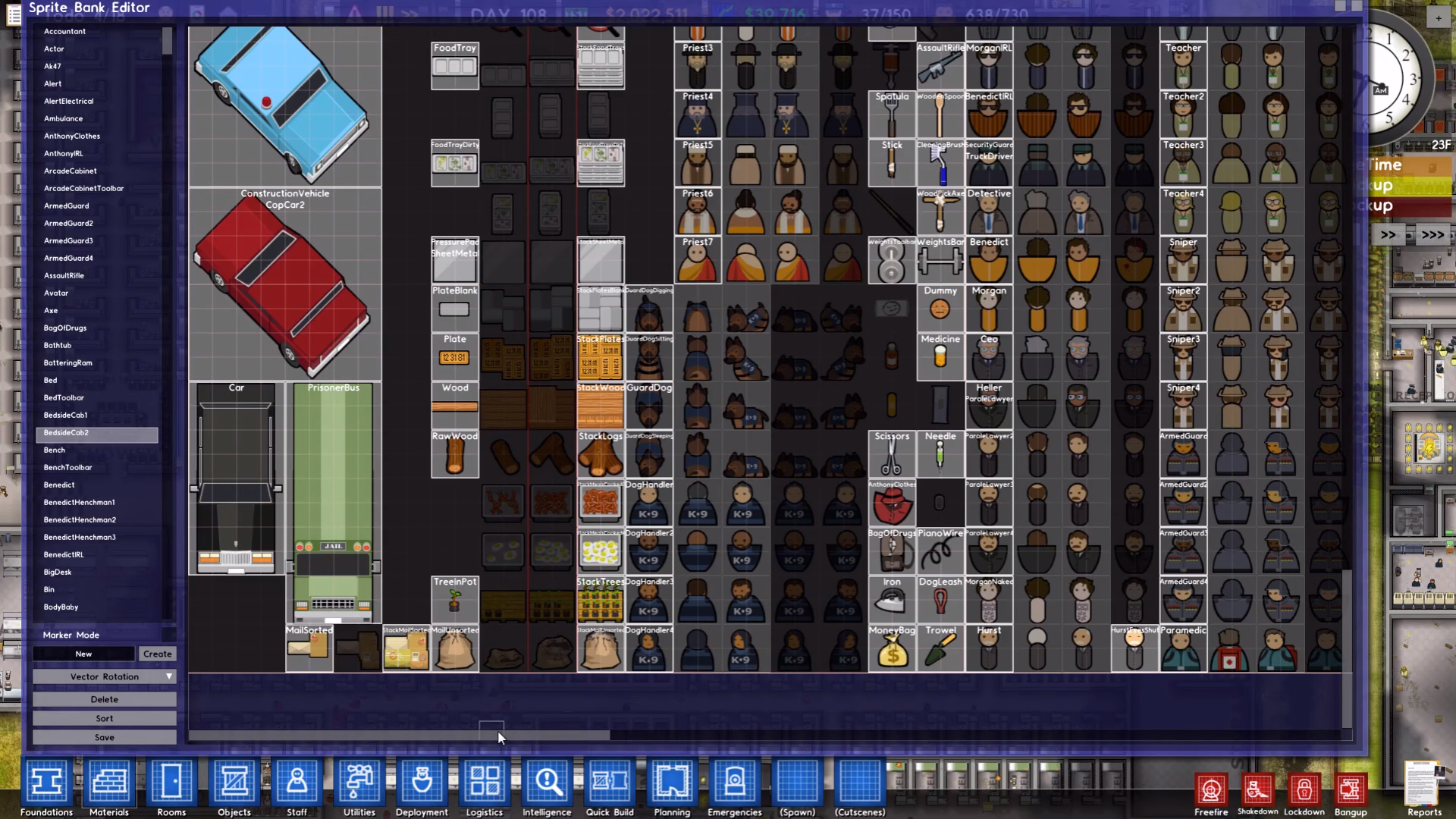 Prison Architect gets final update, dev tools and cheats