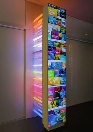 Engage Unveils Digital Signage Installation for Bloomberg