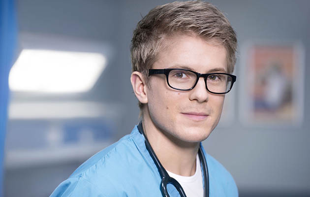 Casualty cast 2017 - George Rainsford