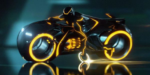 Tron's lightcycle in Tron: Legacy