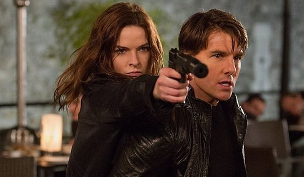 Mission: Impossible Rogue Nation Rebecca Ferguson Tom Cruise Ilsa takes aim with Ethan