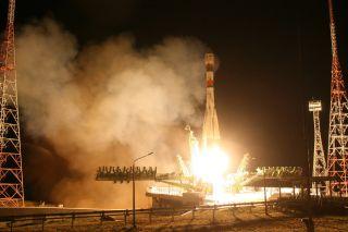 Soyuz Launches Animals