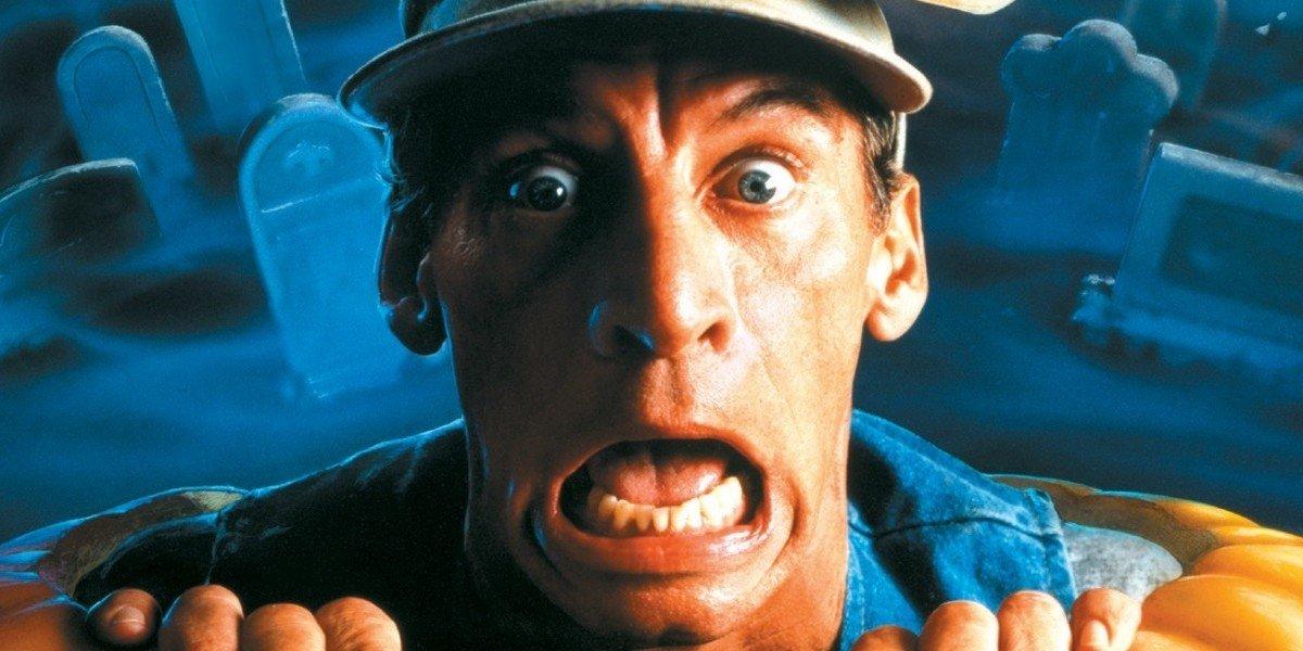 Jim Varney in Ernest Scared Stupid