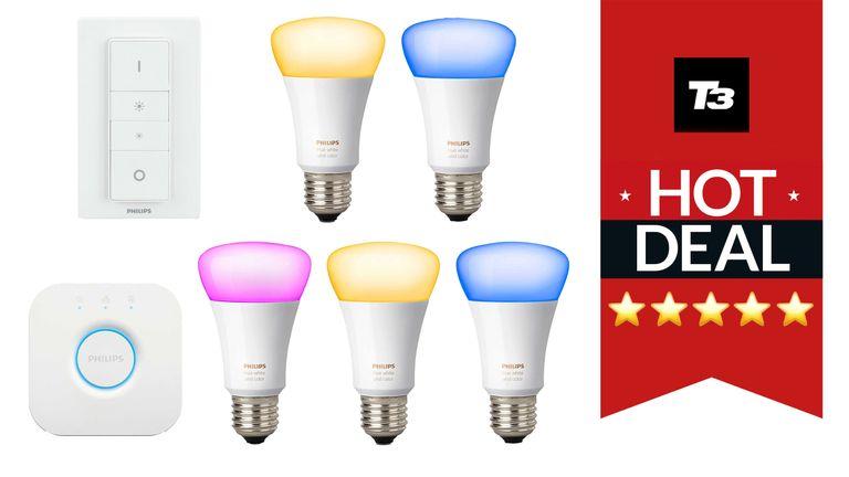 Philips Hue smart lighting Christmas gift deals