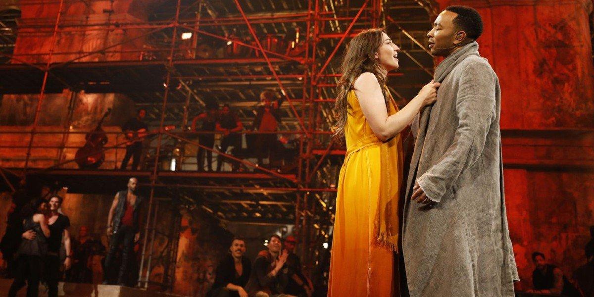 Sarah Bareilles and John Legend in Jesus Christ Superstar Live In Concert