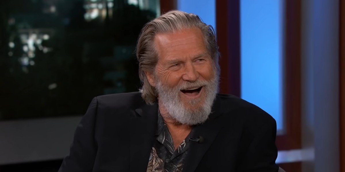 Jeff Bridges talking about getting high with Snoop Dogg on Jimmy Kimmel Live!