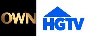 OWN & HGTV logos