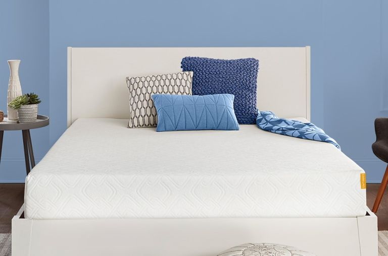 The Simmons memory foam mattress is on sale for under $400 for a king size