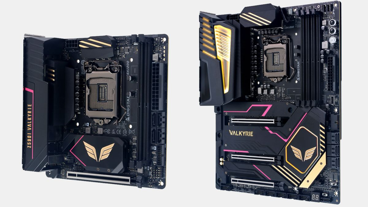 Biostar Unveils Flagship Valkyrie Z590 Motherboards