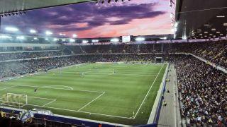 Stade de Suisse evening game