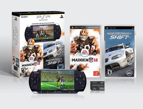 Madden NFL 12 and Need for Speed SHIFT PSP Entertainment Pack Coming This Month #18566